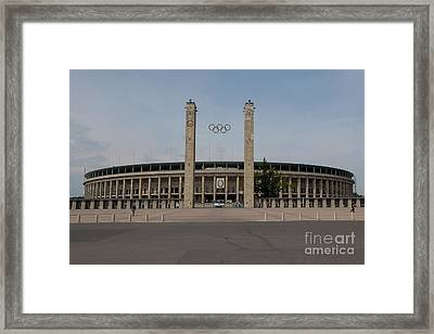 Berlin Olympic Stadium Framed Print by Stephen Smith