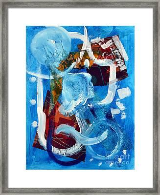 Murano Framed Print by Lynda Cookson