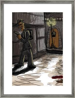 Murder At Number 5 Framed Print by Sasank Gopinathan