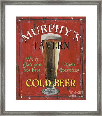 Murphy's Tavern Framed Print by Debbie DeWitt