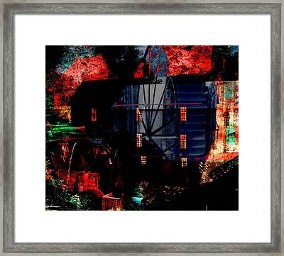 Murrays Mill Revisited Framed Print by MW Robbins