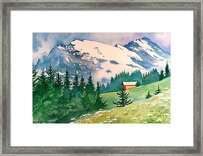 Murren Switzerland Framed Print by Scott Nelson