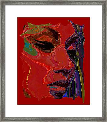 Muse 1 Tee Framed Print by  Fli Art