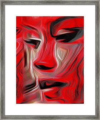 Muse 9 Framed Print by Fli Art