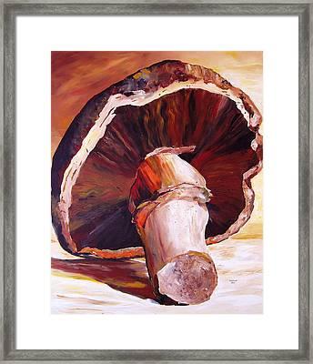 Mushroom Still Life Framed Print by Toni Grote