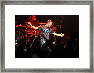 Music 5 Framed Print by Kyle McFadden