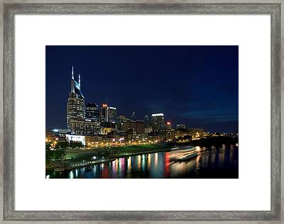 Music City Queen At Nashville Framed Print by Mark Currier
