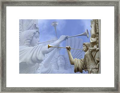Music Divine Framed Print by Jeannie Burleson