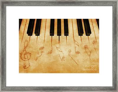 Music Framed Print by Giordano Aita