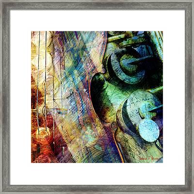 Music II Framed Print by Barbara Berney