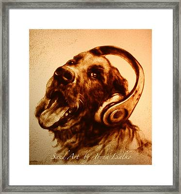 Music Lover Framed Print by Iryna Lialko
