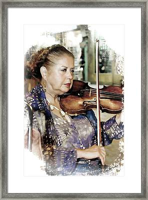 Music Of The Night Framed Print by Starlite Studio