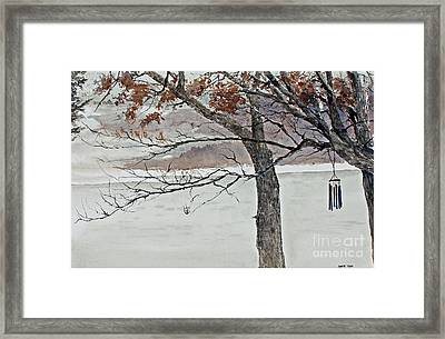 Music Of The North Wind Framed Print by Monte Toon