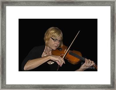 Music, The Universal Language Framed Print by Al Bourassa