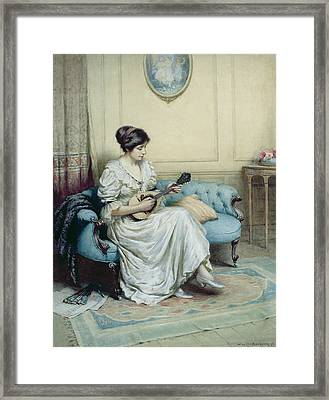 Musical Interlude Framed Print by William Kay Blacklock