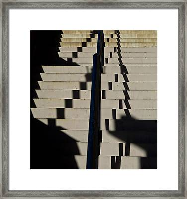 Musical Stairs Framed Print by Bonnie See
