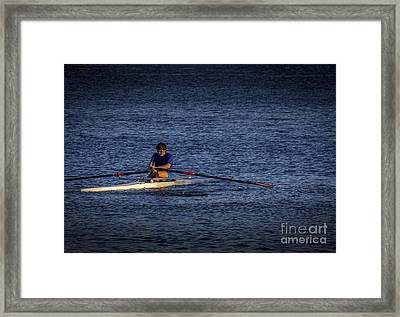 Must Get Faster Framed Print by Marvin Spates