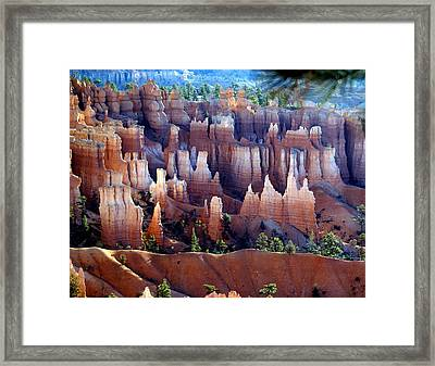 Muted Bryce Framed Print by Marty Koch
