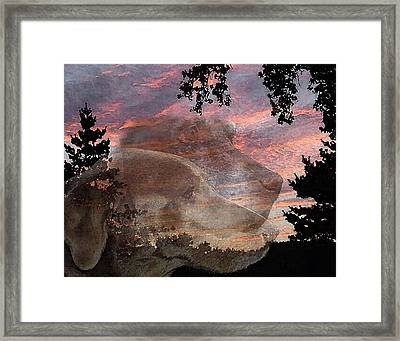 My Babes In Heaven Framed Print by Ross Powell