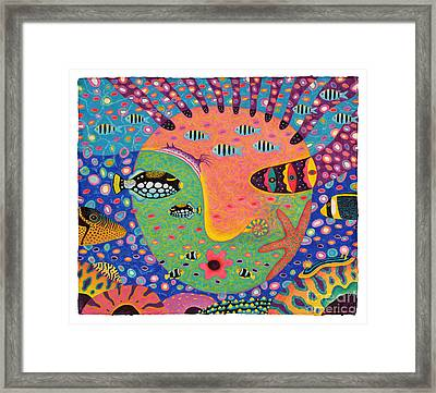 My Daughter 1 Framed Print by Opas Chotiphantawanon