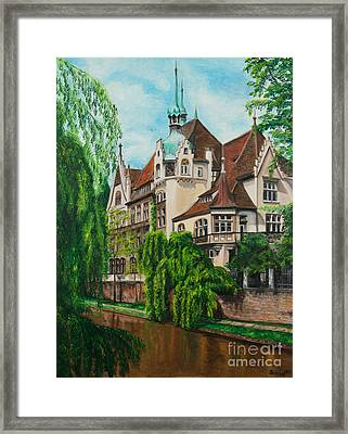 My Dream House Framed Print by Charlotte Blanchard