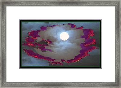 My Dream Moon Moonshine Sky Framed Print by Navin Joshi