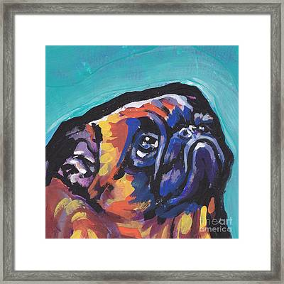 My Eyes Adore You Framed Print by Lea S