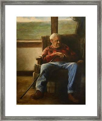 My Father Framed Print by Wayne Daniels