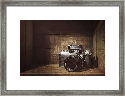 My First Nikon Camera Framed Print by Scott Norris