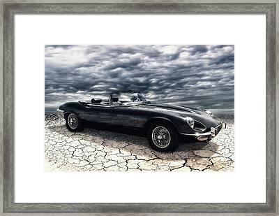 my friend the Jag Framed Print by Joachim G Pinkawa