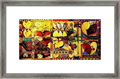 My Funny Valentine Framed Print by Mindy Newman