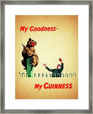 My Goodness My Guinness 2 Framed Print by Mark Rogan