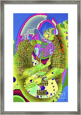 My Guitar Framed Print by Ginette Callaway
