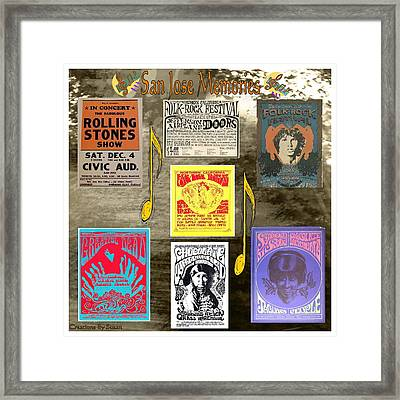 My Kind Of Town Framed Print by Susan Ince