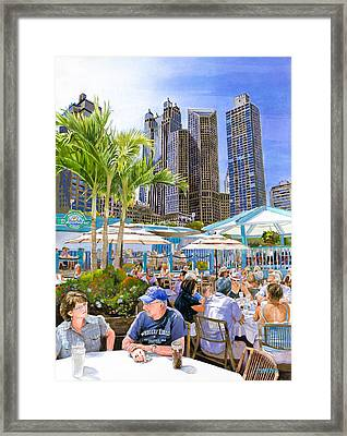 My Kinda Town Framed Print by Mike Hill