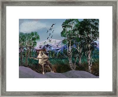 My Lady Framed Print by Julia Ellis