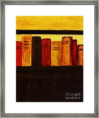 My Library Ll          Framed Print by Marsha Heiken