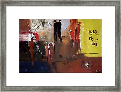 My Life Framed Print by Mirko Gallery