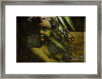 My Little Angel Framed Print by Susanne Van Hulst