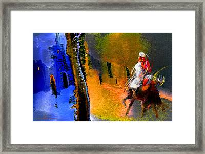 My Oasis Framed Print by Miki De Goodaboom