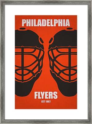 My Philadelphia Flyers Framed Print by Joe Hamilton