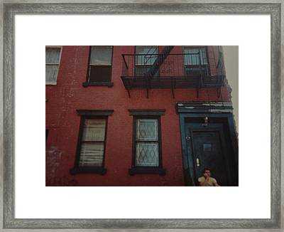 My Pops First Home In The United States Framed Print by Rob Hans