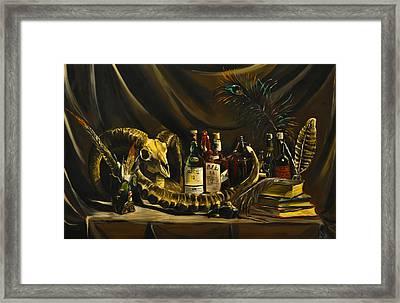 My Room Still Life Framed Print by MM Shaikh