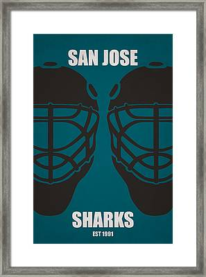 My San Jose Sharks Framed Print by Joe Hamilton