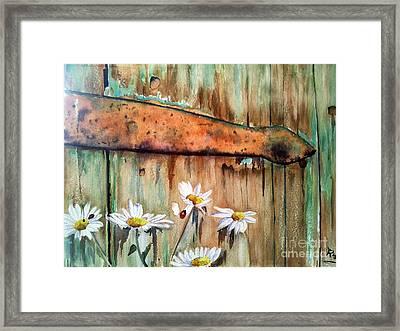 My Secret Garden Framed Print by Patricia Pushaw