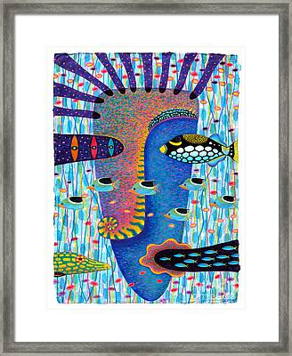 My Self 1 Framed Print by Opas Chotiphantawanon