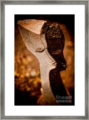 My Shadow And I Framed Print by Venetta Archer