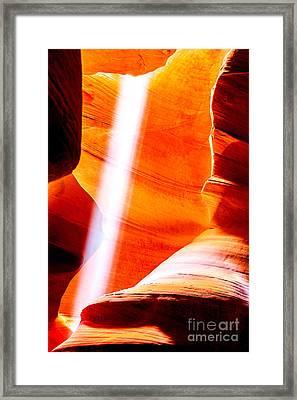 My Solitaire Framed Print by Az Jackson