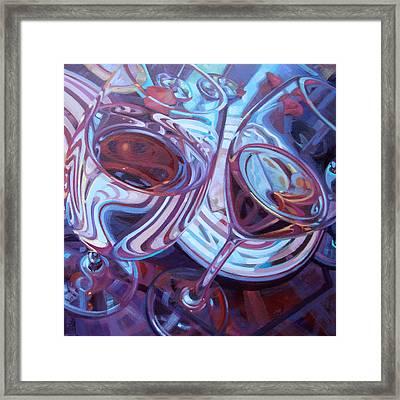 My Swanson Swirls Framed Print by Penelope Moore