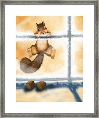 My Sweet Gift Framed Print by Veronica Minozzi
